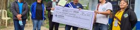 DA awards agricultural products' transport fund to Mountain Province